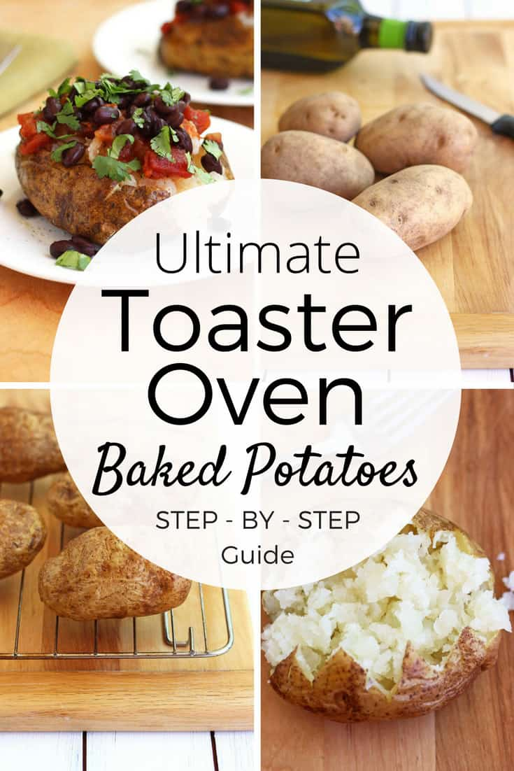 how to toaster oven baked potatoes