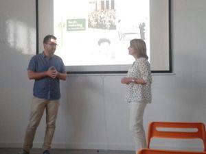 Fuera estrés en Toastmasters Málaga