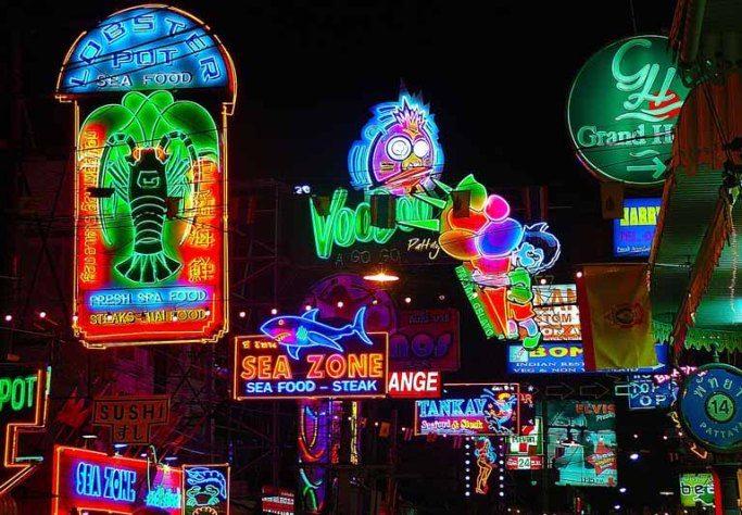 Thailand's streets come alive at night, remember to stay safe