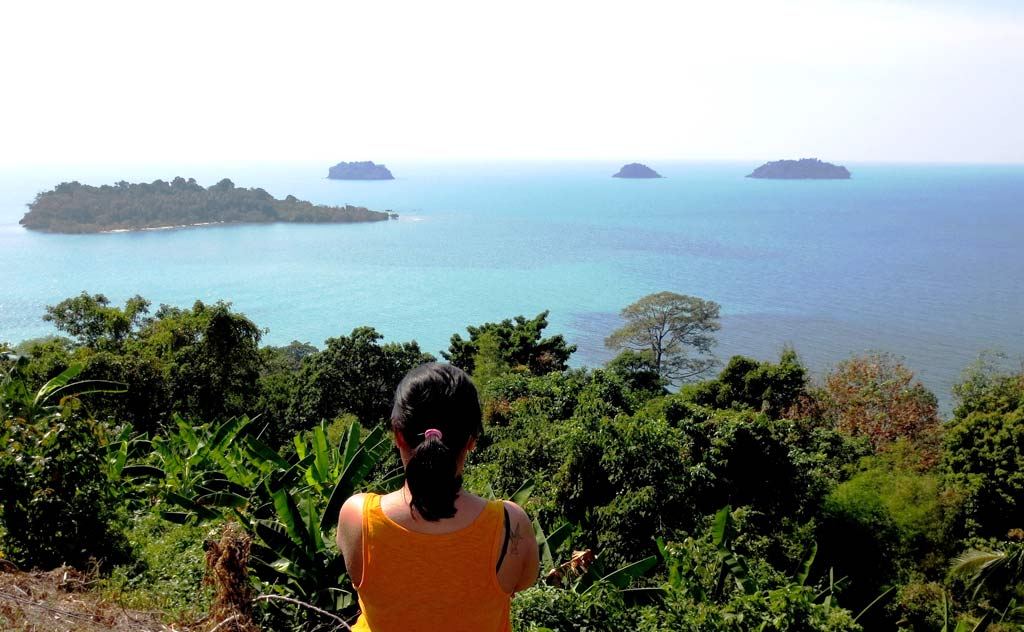 View from View Point, Koh Chang, Thailand