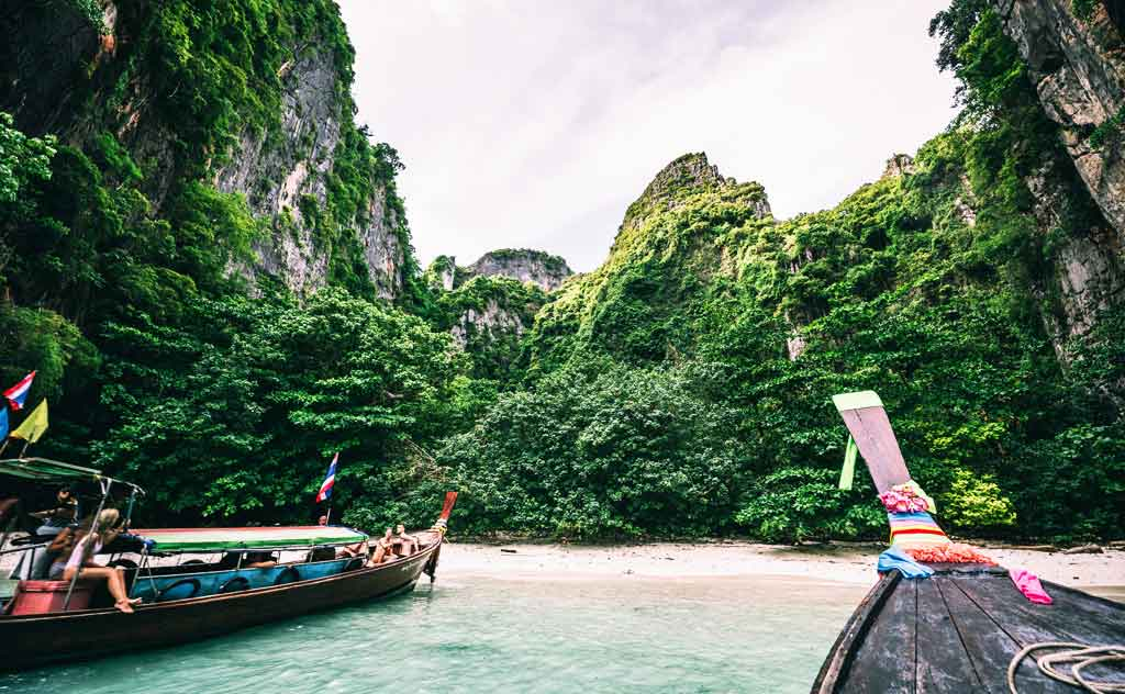 Island hopping is one of the best things to do in Thailand