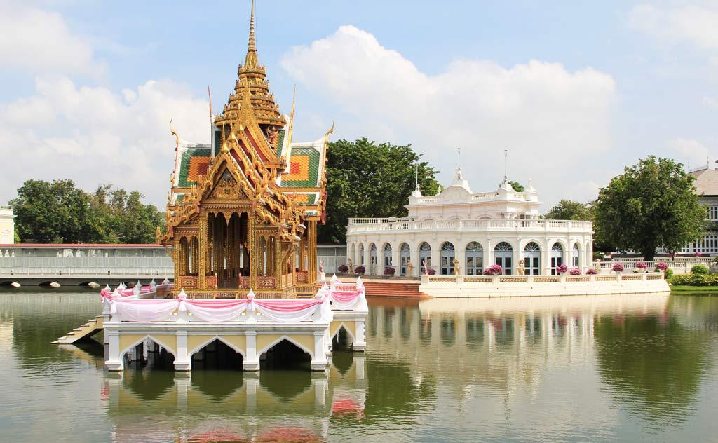 Aisawan Dhiphya Asana Pavilion, in Bang-Pa-In-Royal, Ayutthaya, Thailand