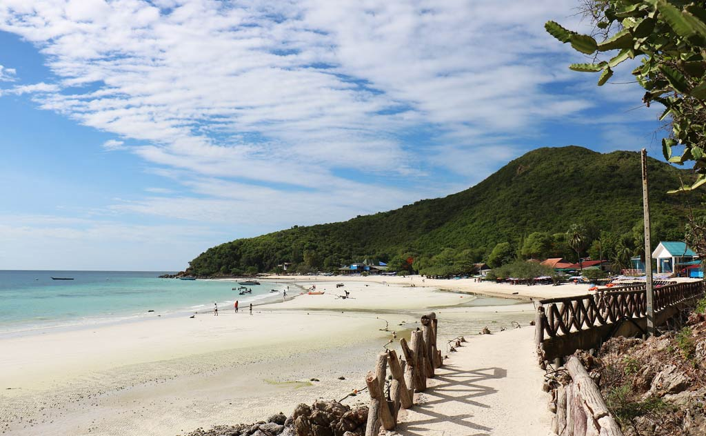 Visiting the Coral Island or Koh Larn is one of the favourite things to do in Pattaya for those looking for quiet time on a beach