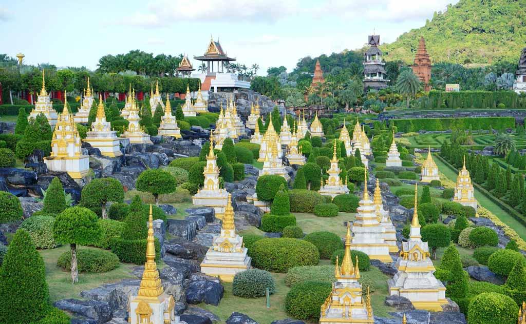 Pattaya's world famous Nong Nooch Tropical Garden