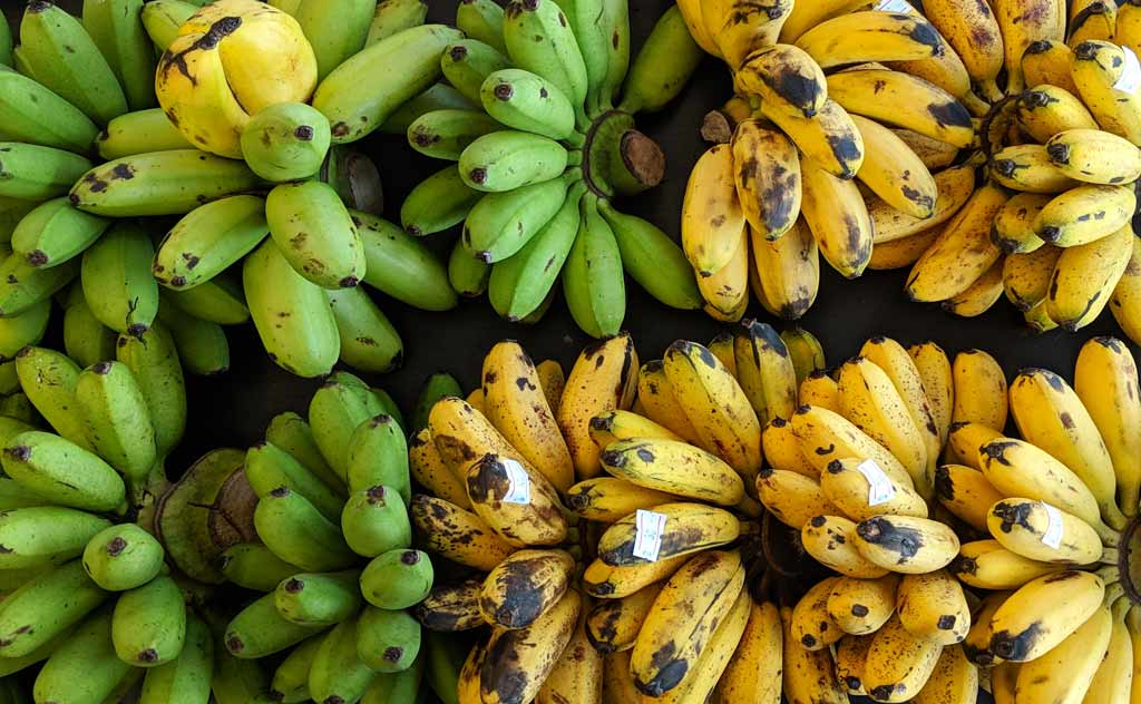 Bananas are the cheapest fruit in Thailand