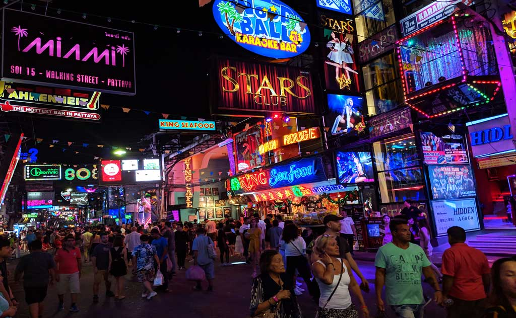 Pattaya Walking Street: Pattaya's favourite nightlife destination & Thailand's Most Famous Walking Street