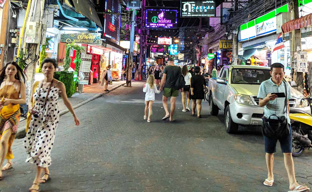 Thailand Streets at night
