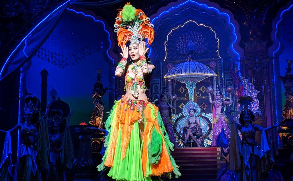 Indian dance at Alcazar Cabaret Show in Pattaya
