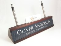 Personalized Desk Name plate nameplate business card and ...