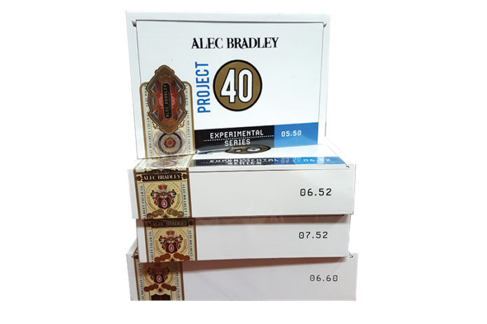 Alec Bradley Project 40 Ships in May 2019