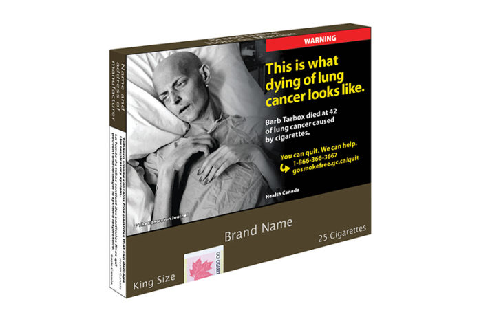 Canada Announces New Tobacco Plain Packaging Regulations