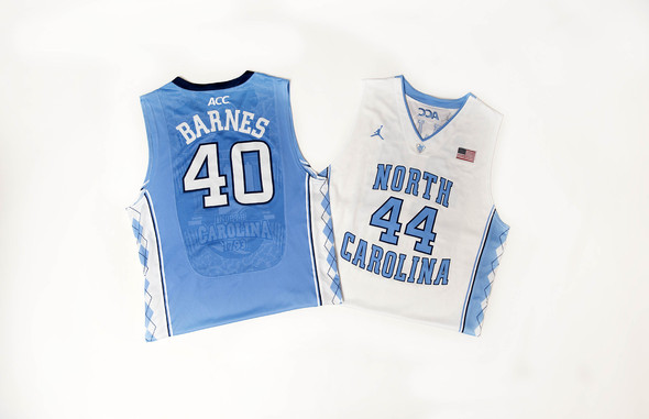 UNC's new Nike Aerographic jerseys