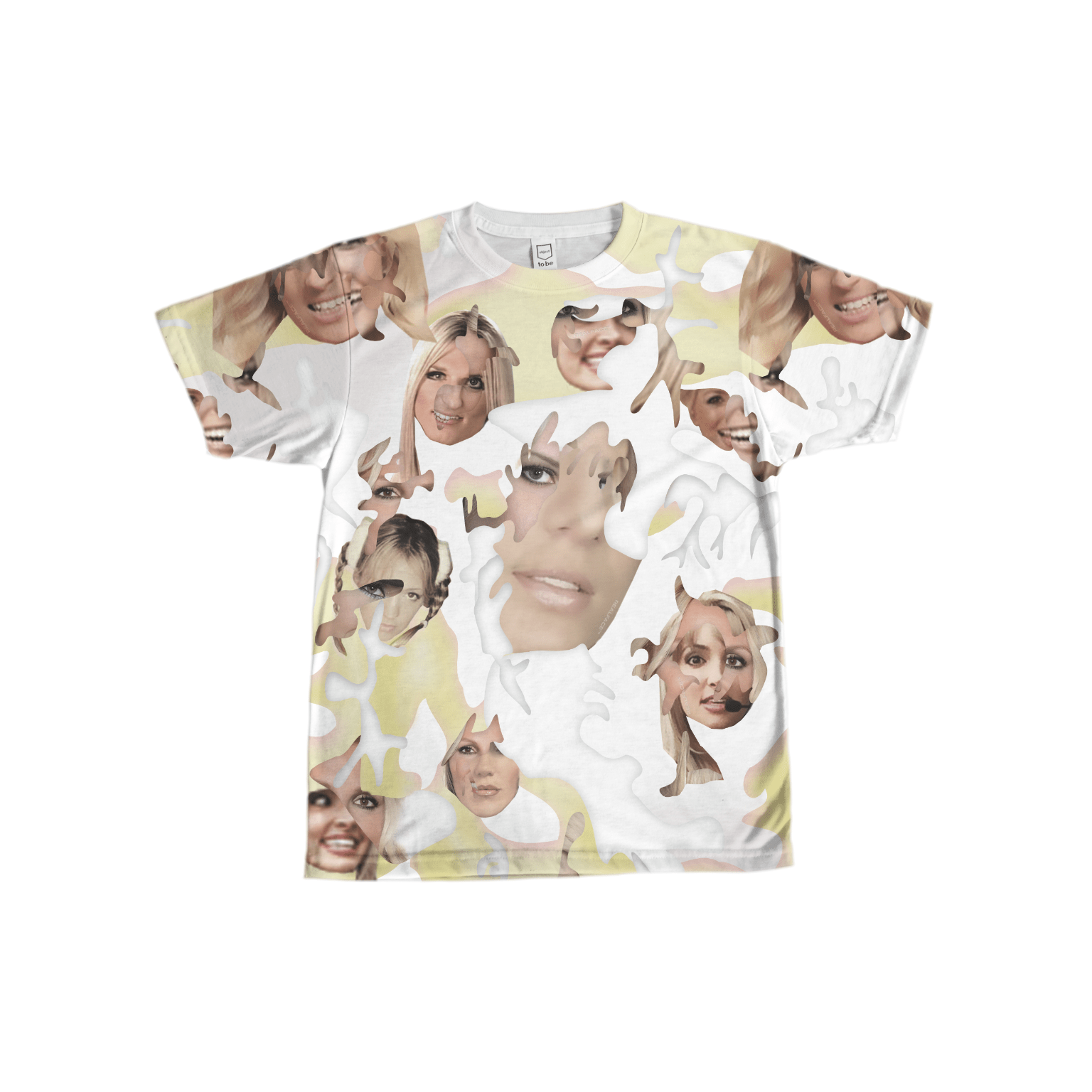 Britney Spears on a Glamoflage shirt