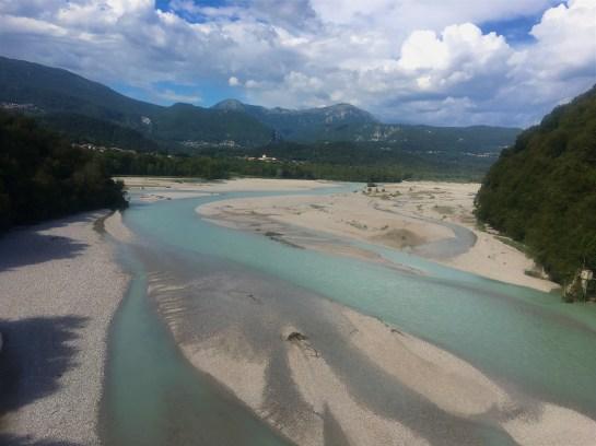 The Tagliamento River