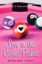 heart love in the corner pocket
