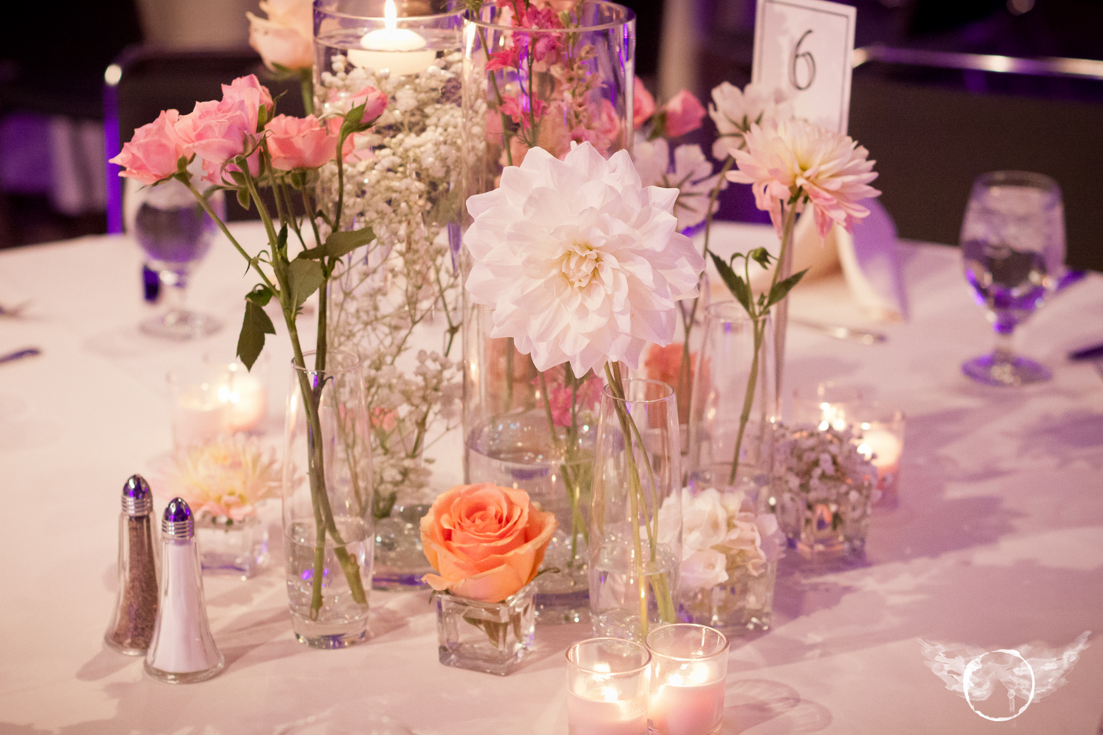Romantic Style Wedding In Peach, Pearl And Blush