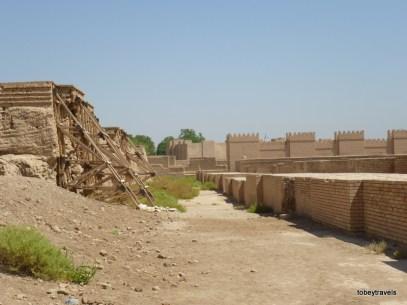 Babylon View towards Nebuchadnezzar's Palace