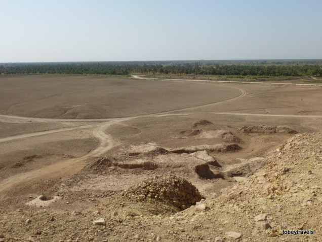 View from Borsippa Ziggurat