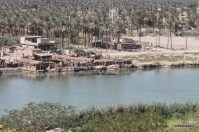 View from Saddam's Palace Babylon