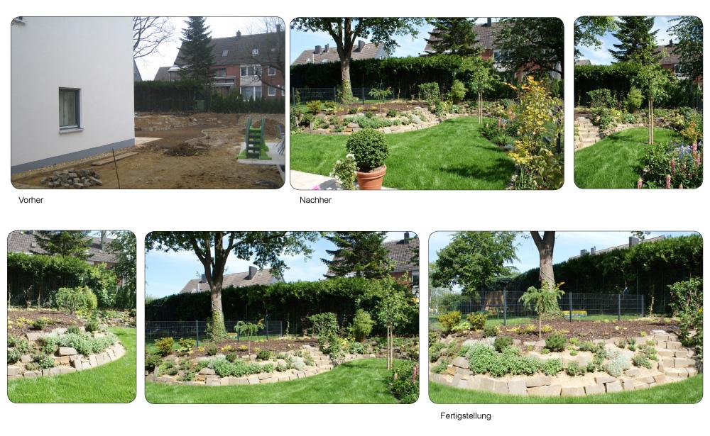 Garten Gestalten Vorher Nachher | Möbelideen