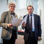 Lehrpreisträger Prof. Dr. Horst Pagel, Präsident Prof. Dr. Dr. h.c. Hendrik Lehnert