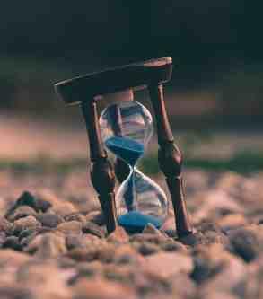 Memento mori - Die Zeit vergeht.