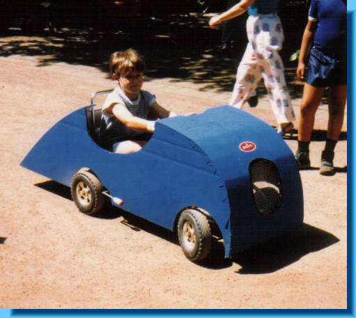 Kinder Bugatti Tank