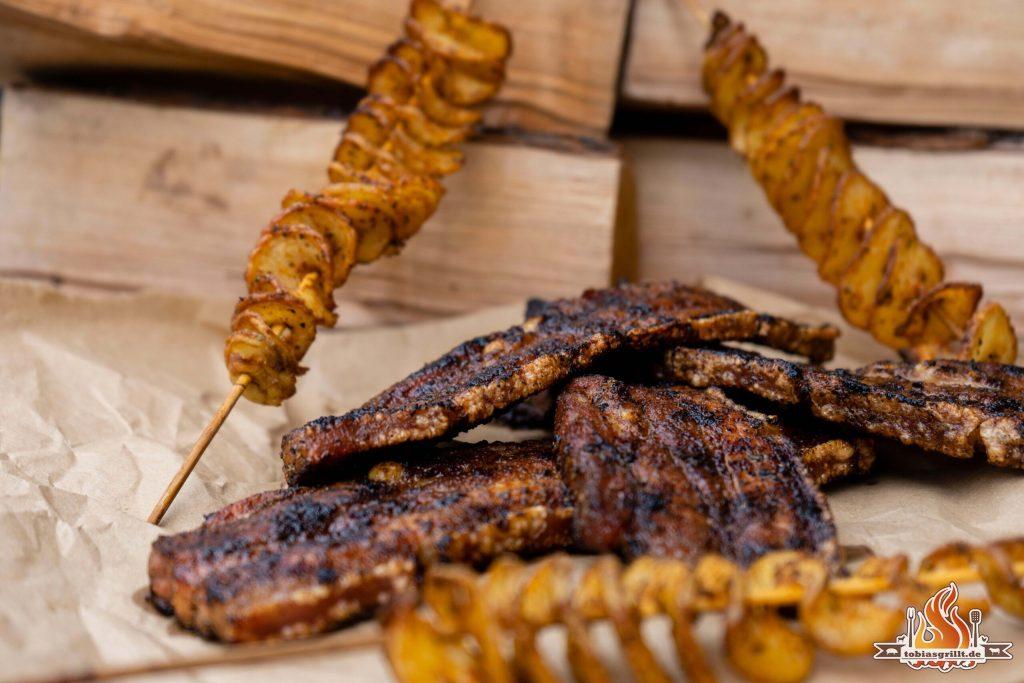 Bauchfleisch vom Grill