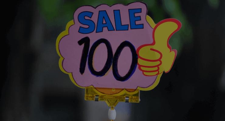 Salgsskilt med WooCommerce Coupon og rabatkode