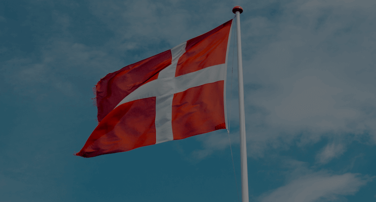 Denmark symbolized by the Danish flag and DK local citation sites for local SEO linkbuilding