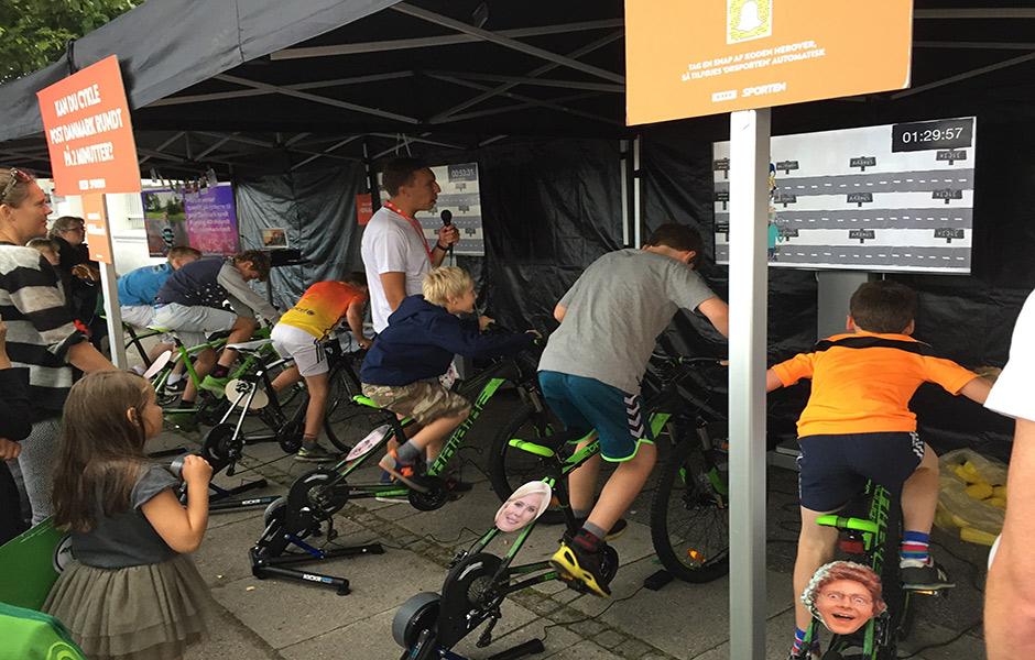 Tour de Denmark Smart trainer installation