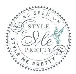 Tobin Photography's work featured on Style Me Pretty!