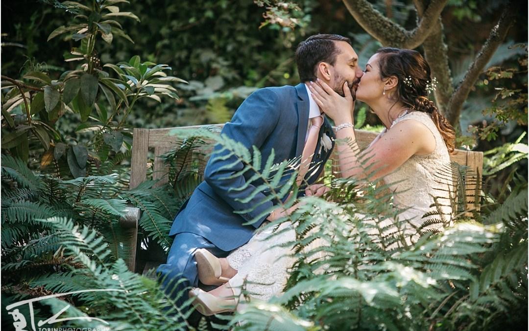 Carrie and Jeff's Secret Gardens Wedding in Bodega Bay
