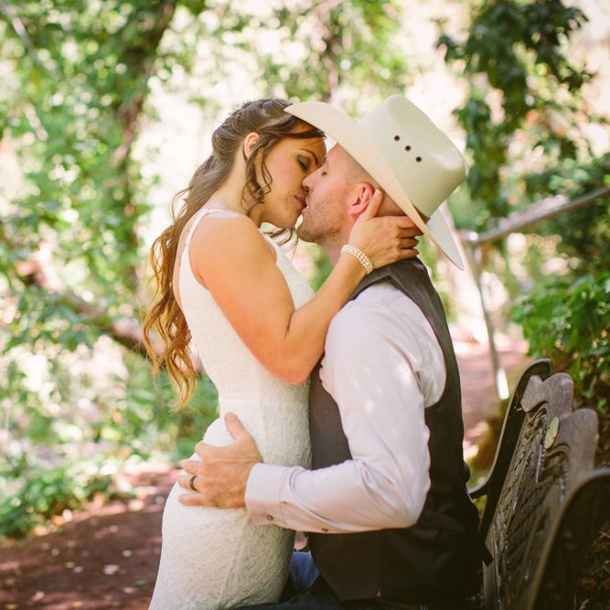 Jenna and Johnny's Biblical Gardens Wedding