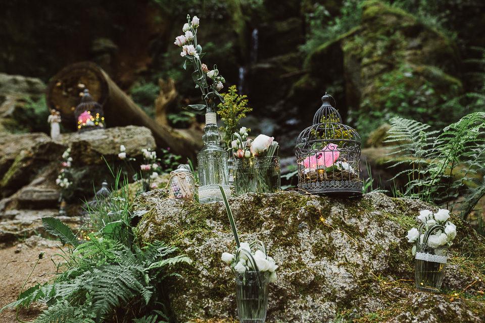 Hochzeitsfotografie im Erzgebirge und ganz viel Wald