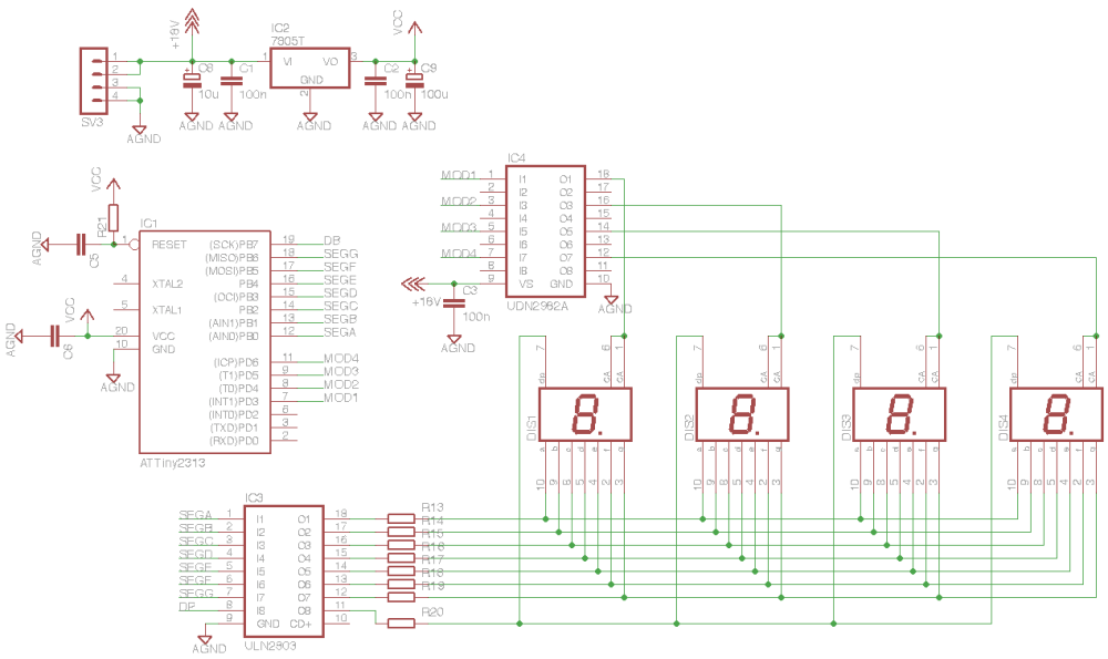medium resolution of image result for microcontroller drive large 7 segment