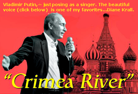 Harvey Tobkes Blog Archive Cry Me A River Or Crimea River