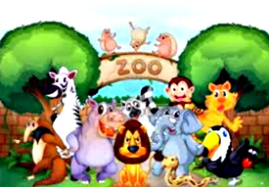 zoo cartoon