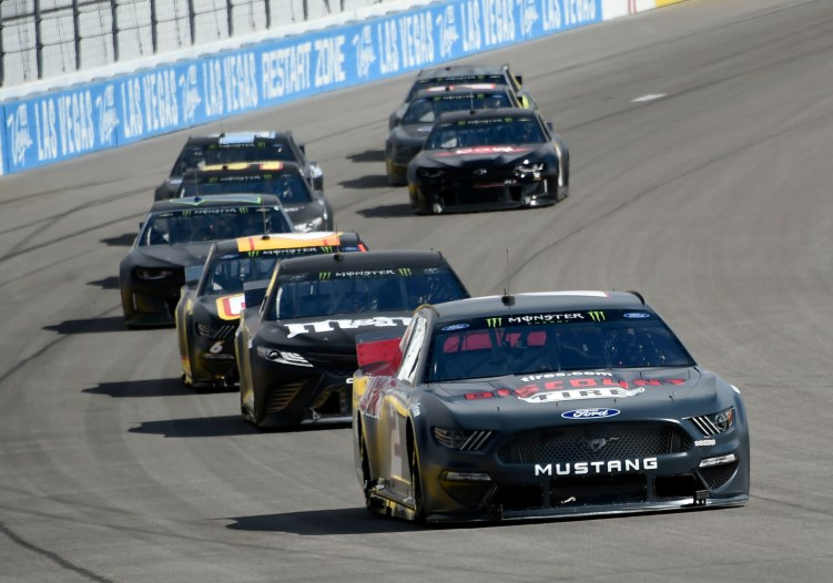 NASCAR Test - Las Vegas