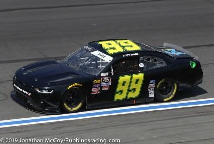 Cody Ware's No. 99 BJ McLeod Motorsports Chevrolet Camaro SS. Photo Credit: Jonathan McCoy/RubbingsRacing.com