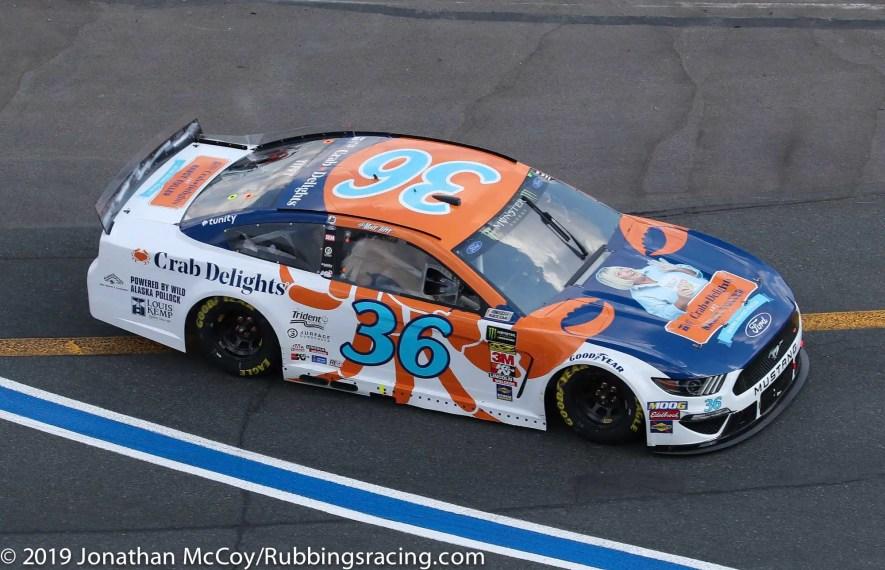 Matt Tifft's No. 36 Crab Delights Ford Mustang. Photo Credit: Jonathan McCoy / RubbingsRacing.com