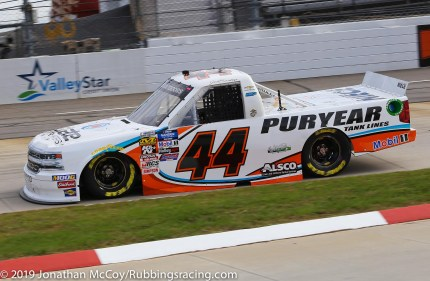Jeb Burton's No. 44 State Water Heaters Chevrolet Silverado (Photo Credit: Jonathan McCoy / RubbingsRacing.com)