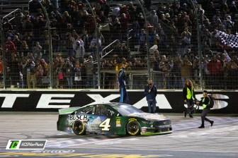 Kevin Harvick reigned supreme after a wild race at Texas Motor Speedway. Photo Credit: Caleb Pifer / TobyChristie.com