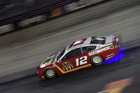 BRISTOL, TENNESSEE - JULY 15: Ryan Blaney, driver of the #12 BodyArmor Ford, drives during the NASCAR Cup Series All-Star Race at Bristol Motor Speedway on July 15, 2020 in Bristol, Tennessee. (Photo by Jared C. Tilton/Getty Images)