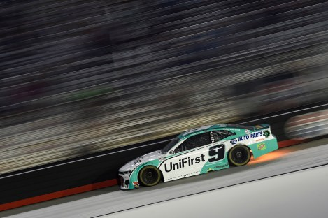 BRISTOL, TENNESSEE - JULY 15: Chase Elliott, driver of the #9 UniFirst Chevrolet, drives during the NASCAR Cup Series All-Star Race at Bristol Motor Speedway on July 15, 2020 in Bristol, Tennessee. (Photo by Jared C. Tilton/Getty Images)