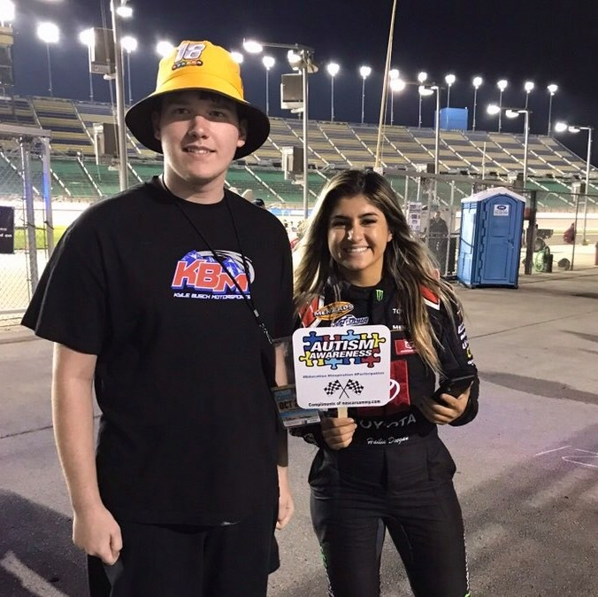Hailie Deegan and Sammy (PC: Jennifer Wilson)