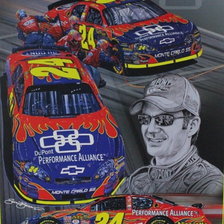 Jeff Gordon's DuPontbPerformanc Alliance Chevrolet (PC : Plan B Sales)