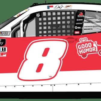 Dale Earnhardt Jr's Good Humor Ice Cream Camaro for JR Motorsports (Design Credit : Kyle Williams)