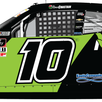 Ross Chastain's NutrienAg Solutions Camaro for Kaulig Racing (Design Credit : Kyle Williams)