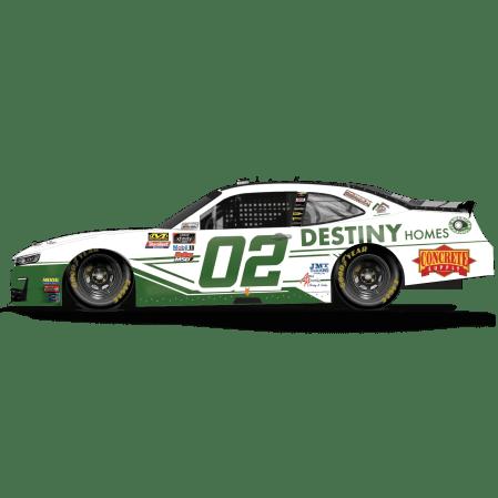 Brett Moffit's No. 02 DESTINY Homes Camaro (PC : Dick Claveloux)